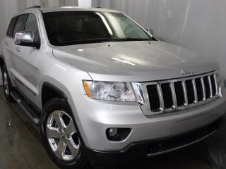 Used 2011 Jeep Grand Cherokee Limited 4x4 / GPS Navigation / Panoramic Sunroof / Rear Back Up Camera for sale in Edmonton, AB