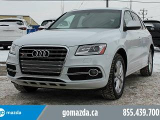 Used 2014 Audi Q5 SQ5 TECHNIK 2 SETS OF RIMS/TIRES LEATHER SUNROOF NAVIGATION 1 OWNER ACCIDENT FREE for sale in Edmonton, AB