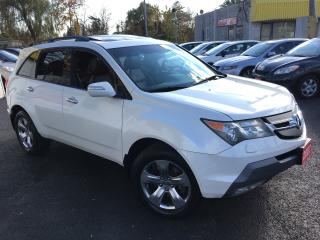 Used 2007 Acura MDX Elite Pkg/NAVI/BACKUP CAMERA/DVD/AWD/FULLY LOADED for sale in Scarborough, ON