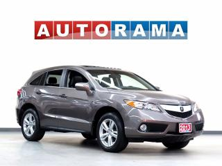Used 2013 Acura RDX TECH PKG NAVIGATION LEATHER SUNROOF 4WD BACKUP CAM for sale in North York, ON