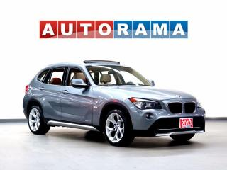 Used 2013 BMW X1 TECH PKG NAVIGATION LEATHER PAN SUNROOF 4WD for sale in North York, ON