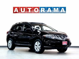 Used 2012 Nissan Murano SL LEATHER SUNROOF 4WD BACKUP CAM for sale in North York, ON