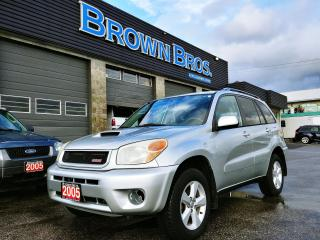 Used 2005 Toyota RAV4 Panoramic roof, 4X4 for sale in Surrey, BC