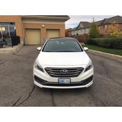 Used 2015 Hyundai Sonata SPORT for sale in Brampton, ON