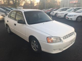 Used 2002 Hyundai Accent GL/AUTO/LOADED/COLD AC/FUEL EFFICIENT for sale in Scarborough, ON