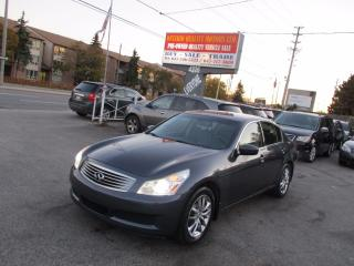 Used 2009 Infiniti G37X  Sport for sale in Scarborough, ON