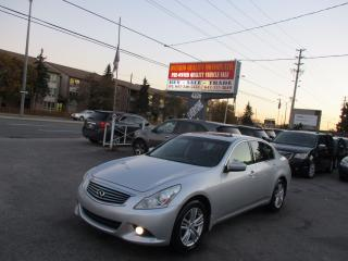 Used 2011 Infiniti G37X  Sport,NAVIGATION,BACK-UP CAMERA for sale in Scarborough, ON