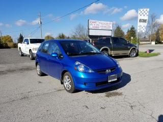 Used 2007 Honda Fit LX w/Cruise Control for sale in Komoka, ON