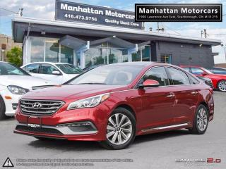 Used 2015 Hyundai Sonata SPORT |PANORAMIC|CAMERA|BLUETOOTH|LOADED for sale in Scarborough, ON