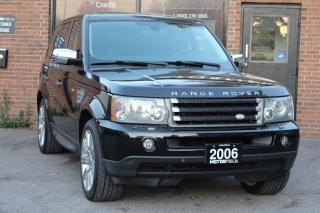 Used 2006 Land Rover Range Rover Sport Supercharged *NAVI, DVDS, NO ACCIDENTS* for sale in Scarborough, ON