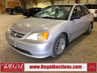 Used 2002 Honda Civic LX 2D Coupe FWD for sale in Calgary, AB