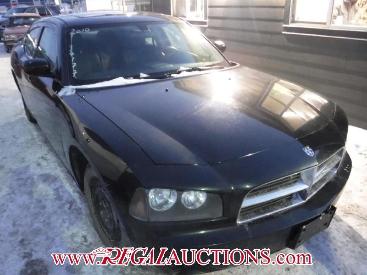 Photo of Black 2010 Dodge CHARGER BASE 4D SEDAN
