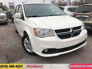 Used 2012 Dodge Grand Caravan Crew | DVD | NAV | LEATHER | ROOF for sale in London, ON