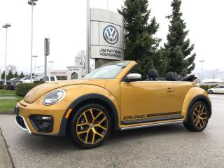 Used 2017 Volkswagen Beetle Dune Convertible 1.8T 6sp at w/ Tip for sale in Surrey, BC