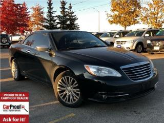 Used 2011 Chrysler 200 LIMITED**HARD TOP**NAVIGATION** for sale in Mississauga, ON