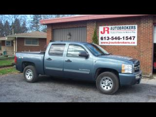 Used 2011 Chevrolet Silverado 1500 LT 4X4 Crew Cab 4.8L 6 Passenger for sale in Elginburg, ON