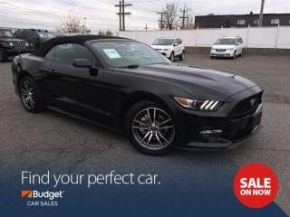 Used 2017 Ford Mustang Premium Convertible, Navigation, Bluetooth for sale in Vancouver, BC