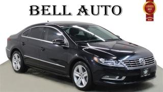 Used 2013 Volkswagen Passat CC SPORTLINE LEATHER SUNROOF BACK UP CAMERA for sale in North York, ON