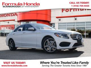 Used 2017 Mercedes-Benz C-Class C300 4MATIC | NAVIGATION | NEAR BRAND NEW for sale in Scarborough, ON