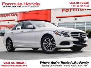 Used 2016 Mercedes-Benz C-Class $100 PETROCAN CARD YEAR END SPECIAL! for sale in Scarborough, ON