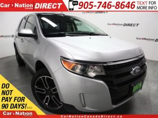 Used 2014 Ford Edge SEL| NAVI| LEATHER| DUAL SUNROOF| for sale in Burlington, ON