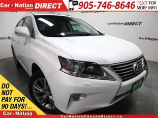 Used 2014 Lexus RX 350 NAVI| AWD| SUNROOF| LEATHER| for sale in Burlington, ON