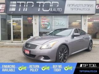 Used 2009 Infiniti G37 Sport ** Nav, Leather, Memory/Heated Seats ** for sale in Bowmanville, ON