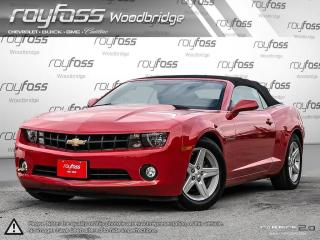 Used 2012 Chevrolet Camaro Convertible. Remote Start. Backup Camera. for sale in Woodbridge, ON