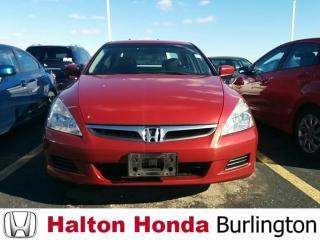 Used 2007 Honda Accord Sedan EXL|JUST IN for sale in Burlington, ON