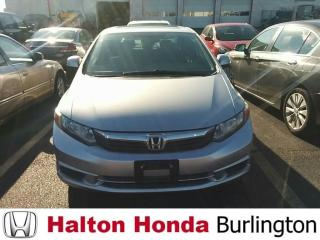 Used 2012 Honda Civic Sedan EX|JUST IN for sale in Burlington, ON