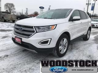 Used 2017 Ford Edge SEL - Bluetooth -  Heated Seats for sale in Woodstock, ON