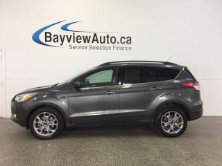 Used 2015 Ford Escape SE- 4WD|ECOBOOST|PANOROOF|HTD LTHR|REV CAM|SYNC! for sale in Belleville, ON