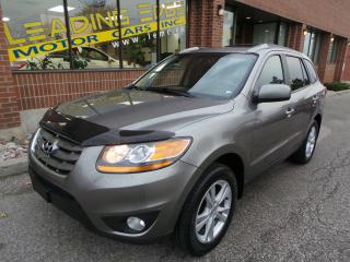 Used 2011 Hyundai Santa Fe Limited 3.5 8 Passenger, navigation, leather for sale in Woodbridge, ON
