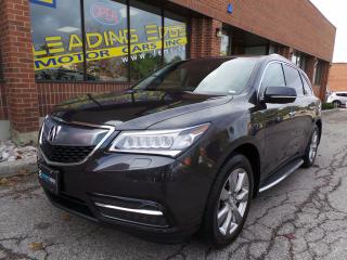 Used 2015 Acura MDX Elite Package navigation, driver assist, wide screen rear entertainment for sale in Woodbridge, ON