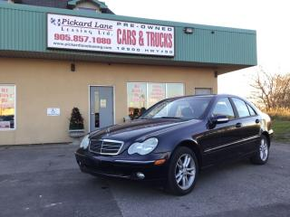 Used 2004 Mercedes-Benz C-Class Classic AS IS. SUNROOF, POWER WINDOWS, LOCKS, AND MIRRORS! for sale in Bolton, ON