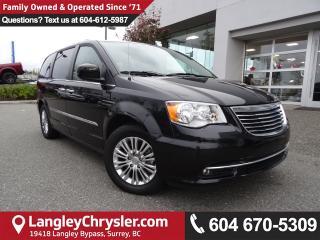 Used 2016 Chrysler Town & Country Touring *ACCIDENT FREE * DEALER INSPECTED * CERTIFIED * for sale in Surrey, BC