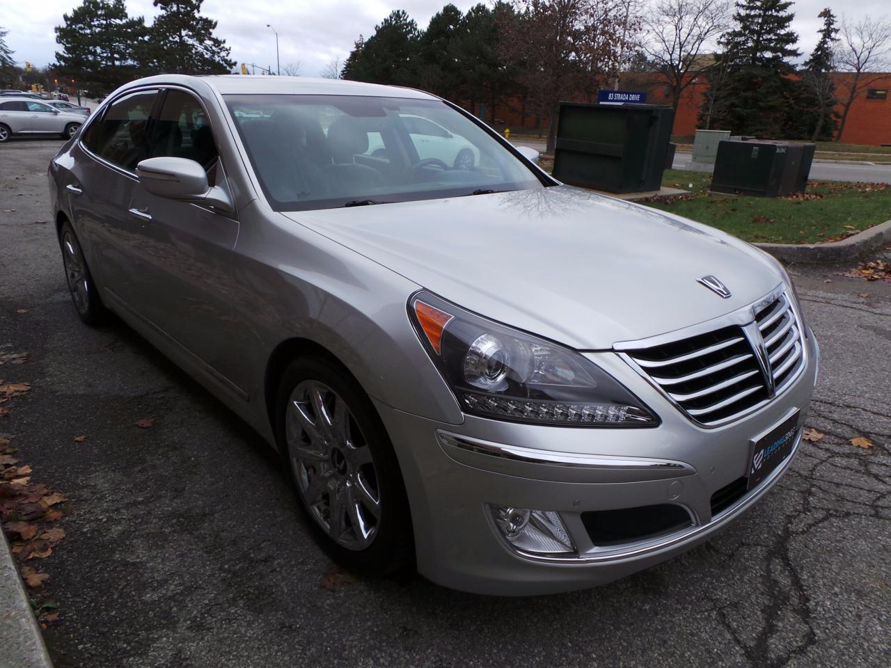 used 2013 hyundai equus signature massaging front seats driver assist for sale in woodbridge. Black Bedroom Furniture Sets. Home Design Ideas