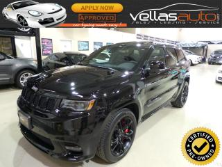 Used 2017 Jeep Grand Cherokee SRT| 4X4| PANORAMIC RF| NAVI for sale in Woodbridge, ON