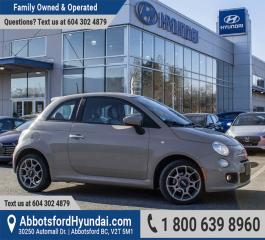 Used 2012 Fiat 500 Sport BC OWNED & ACCIDENT FREE for sale in Abbotsford, BC