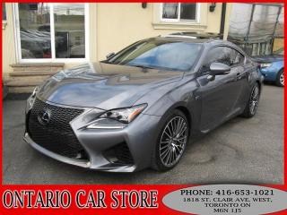 Used 2015 Lexus RC F 2DR Coupe NAVIGATION for sale in Toronto, ON