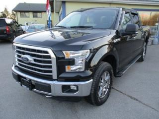 Used 2015 Ford F-150 LOADED XLT MODEL 5 PASSENGER 5.0L - V8.. 4X4.. CREW.. SHORTY.. LEATHER.. HEATED SEATS.. NAVIGATION.. BACK-UP CAMERA.. CD/AUX/USB INPUT.. for sale in Bradford, ON