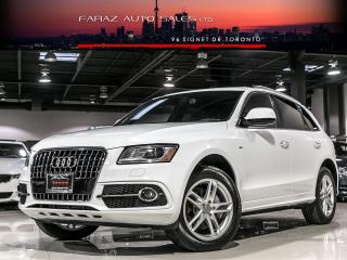 Used 2016 Audi Q5 S-LINE|NAVI|REAR CAM|PANO|PUSHSTART for sale in North York, ON