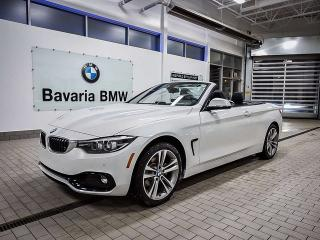New 2018 BMW 430i xDrive Cabriolet for sale in Edmonton, AB