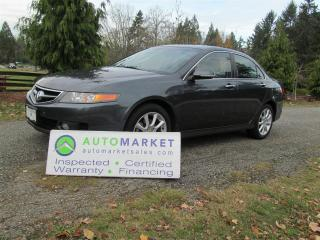 Used 2006 Acura TSX AUTO, LOAD, INSPECTED, FREE WARRANTY for sale in Surrey, BC