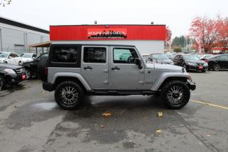 Used 2016 Jeep Wrangler UNLIMITED 4WD 4DR SAHARA for sale in Surrey, BC