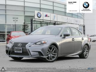 Used 2016 Lexus IS 300 AWD F SPORT | AWD | NAVIGATION | RV CAMERA for sale in Oakville, ON