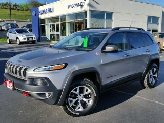 Used 2015 Jeep Cherokee Trailhawk 4X4 for sale in Kitchener, ON