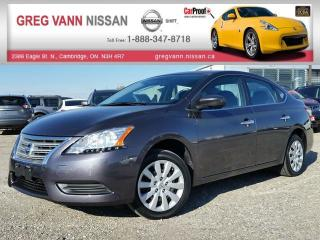 Used 2014 Nissan Sentra S w/bluetooth,cruise control,sport mode for sale in Cambridge, ON