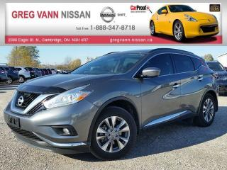 Used 2016 Nissan Murano SV AWD w/NAV,pwr group,rear cam,climate,heated seats,panoramic roof for sale in Cambridge, ON