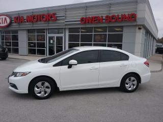 Used 2014 Honda Civic LX for sale in Owen Sound, ON